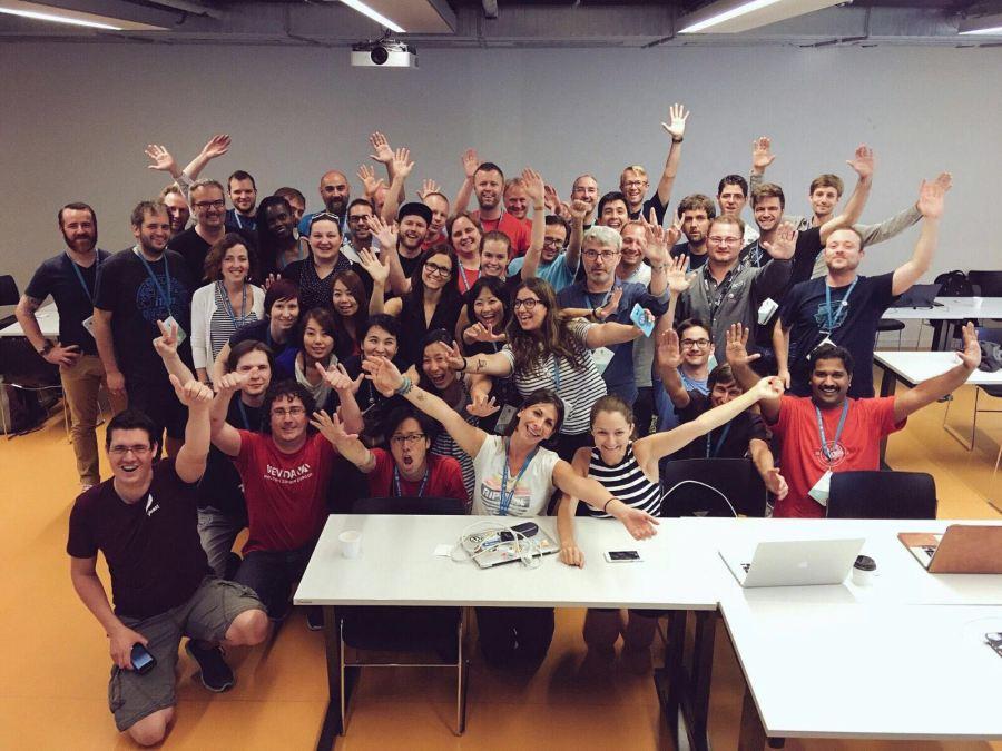Los Polyglots en el Contributor Day de WCEU Viena 2016